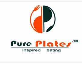 "#335 para Logo Design for ""Pure Plates ... Inspired Eating"" (with trade mark bug) por anjaliom"