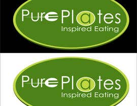 "#290 para Logo Design for ""Pure Plates ... Inspired Eating"" (with trade mark bug) por saidur54271"