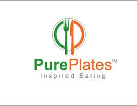 "#265 para Logo Design for ""Pure Plates ... Inspired Eating"" (with trade mark bug) por prasanthmangad"