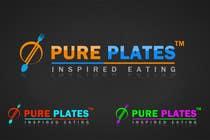 "Logo Design for ""Pure Plates ... Inspired Eating"" (with trade mark bug) için Graphic Design180 No.lu Yarışma Girdisi"