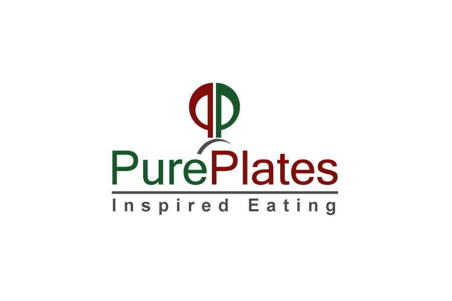 "Konkurrenceindlæg #370 for Logo Design for ""Pure Plates ... Inspired Eating"" (with trade mark bug)"