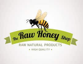 #163 untuk Logo Design for The Raw Honey Shop oleh Ollive
