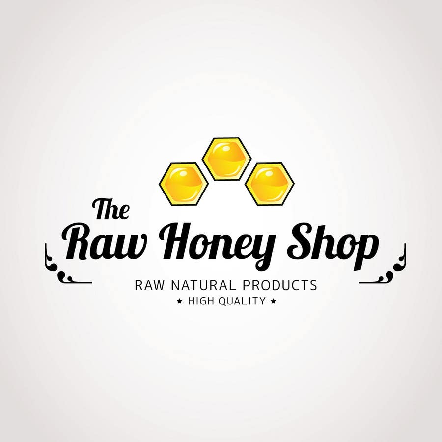 #185 for Logo Design for The Raw Honey Shop by Ollive