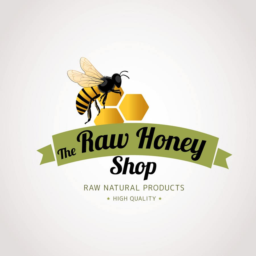 #64 for Logo Design for The Raw Honey Shop by Ollive