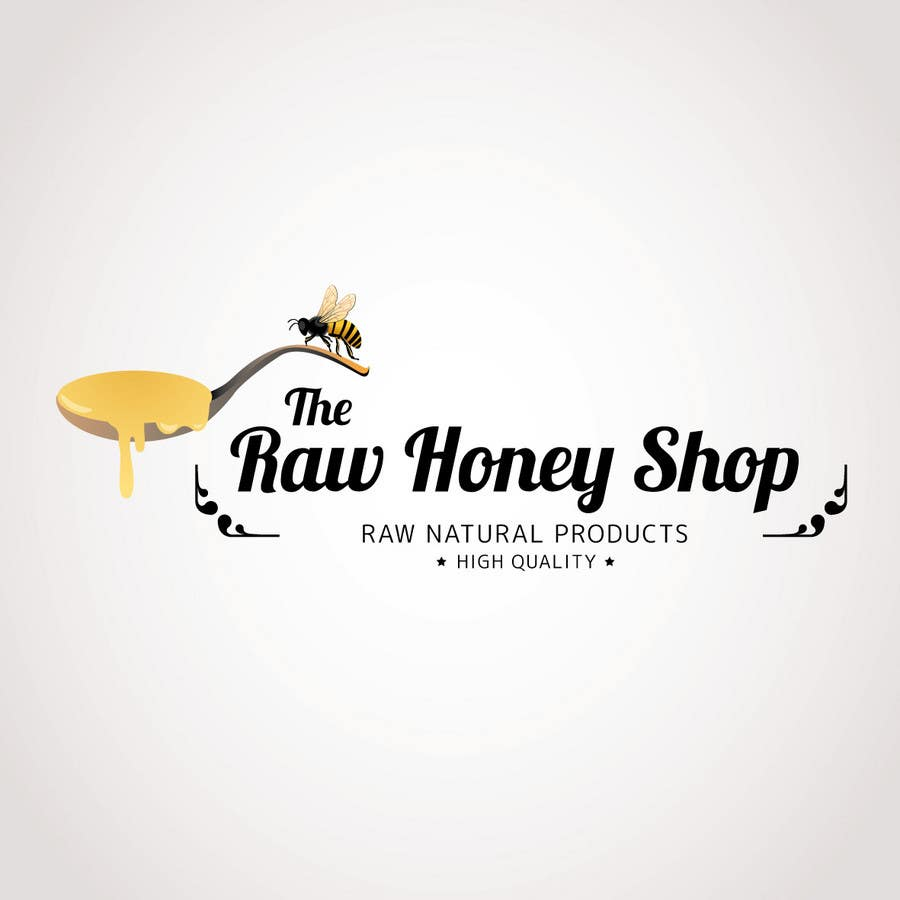 #176 for Logo Design for The Raw Honey Shop by Ollive