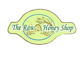 #201 untuk Logo Design for The Raw Honey Shop oleh bava32
