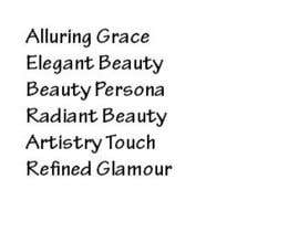 #44 for Beauty Business Needs a New Name by stardust4me