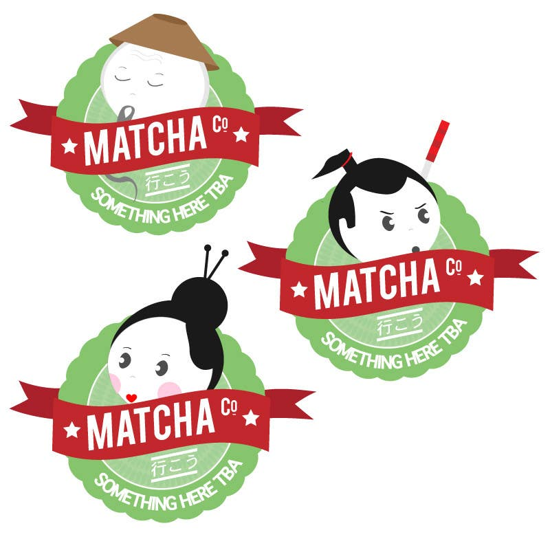 Конкурсна заявка №61 для Design a Logo for Matcha
