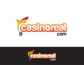 #154 para Logo Design for Casinoreal.com por trangbtn
