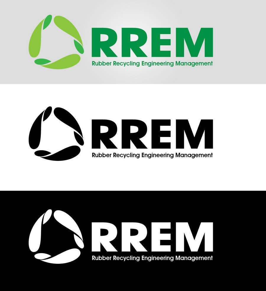 Contest Entry #427 for Logo Design for RREM  (Rubber Recycling Engineering Management)