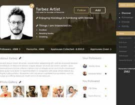 #21 for Redesigning UI of the user profile by shabcreation