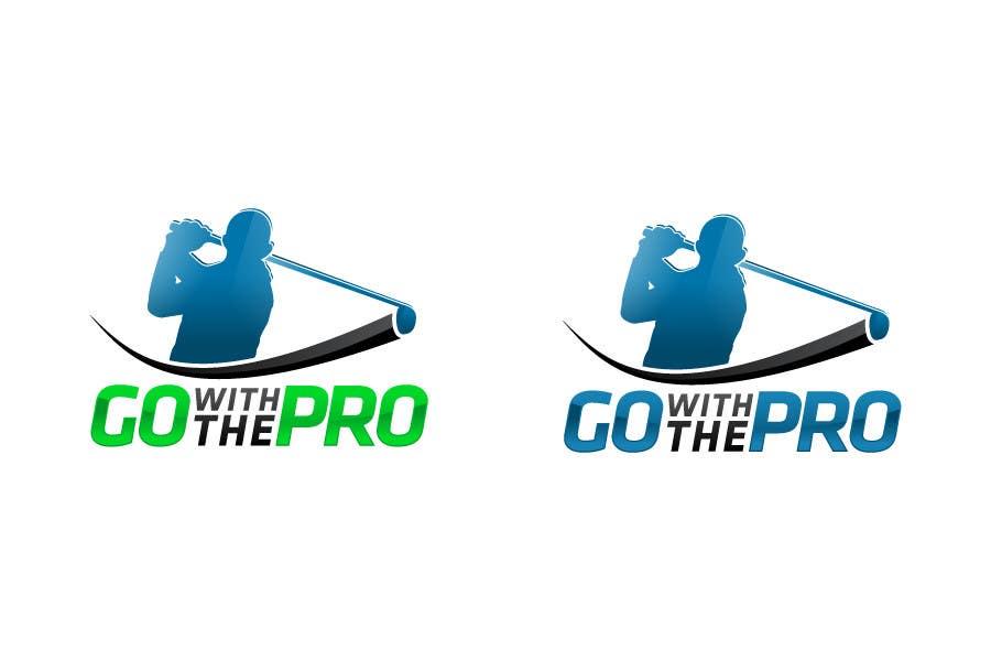 Penyertaan Peraduan #166 untuk Logo Design for Go With The Pro