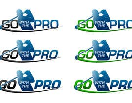 #163 para Logo Design for Go With The Pro por CTRaul