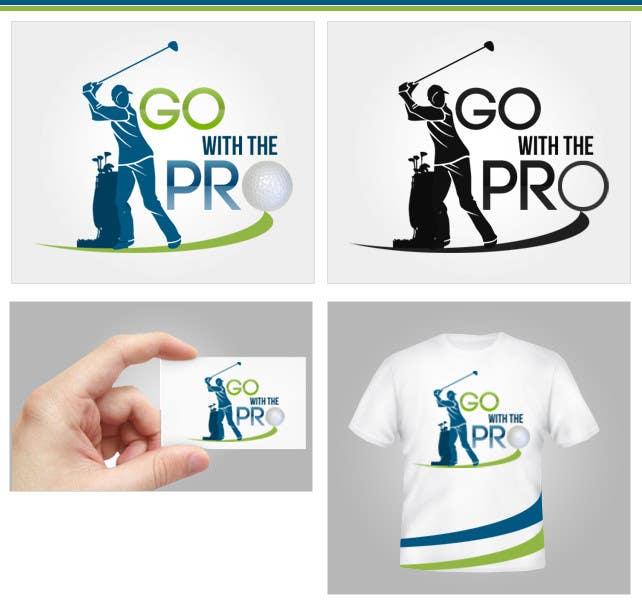 Penyertaan Peraduan #161 untuk Logo Design for Go With The Pro