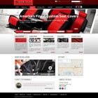 Graphic Design Entri Peraduan #21 for Design a Website Mockup for an auto seat cover manufacturer