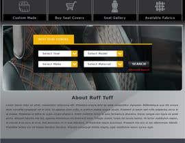 #14 untuk Design a Website Mockup for an auto seat cover manufacturer oleh nole1