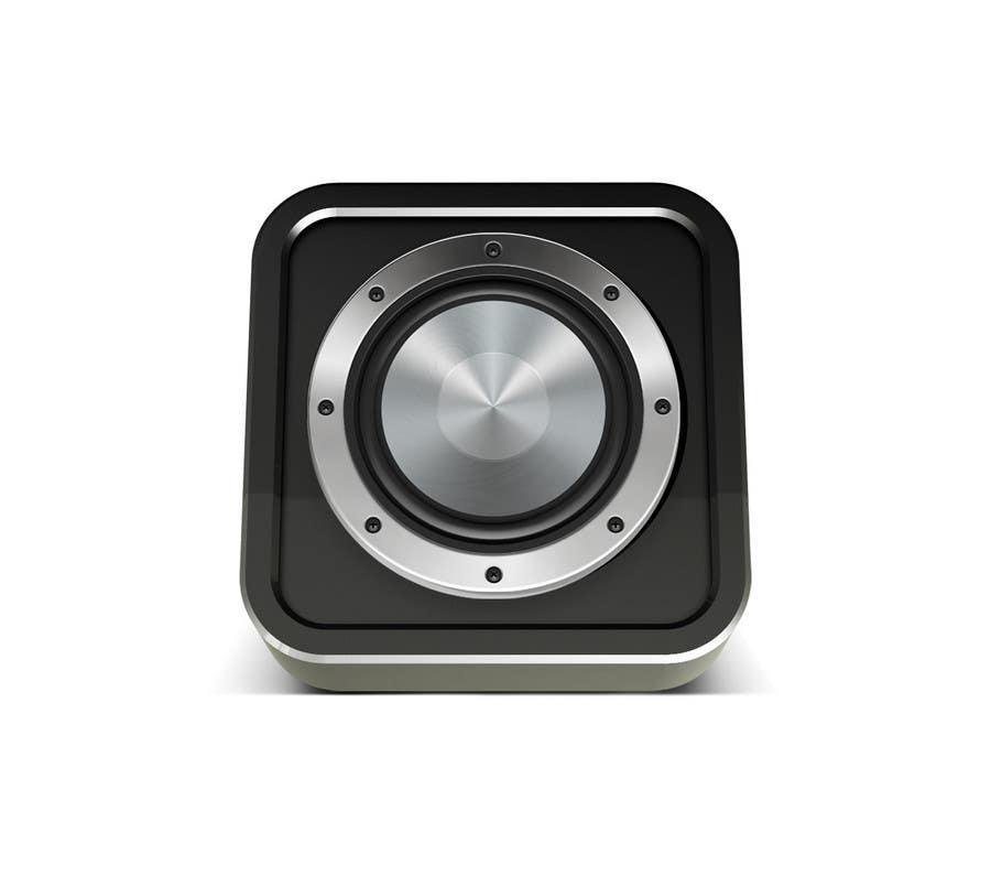 Kilpailutyö #                                        42                                      kilpailussa                                         iPhone/iPad app icon design for music player