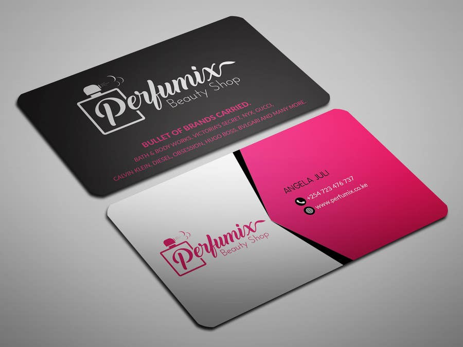 Entry #48 by sahajid000 for business card for beauty shop | Freelancer
