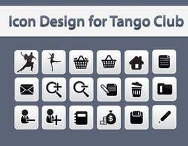 #54 untuk Icon or Button Design for Tango Club oleh topcoder10