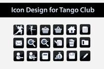 Icon or Button Design for Tango Club için Graphic Design56 No.lu Yarışma Girdisi