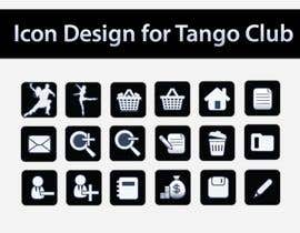 #57 para Icon or Button Design for Tango Club por topcoder10