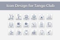 Icon or Button Design for Tango Club için Graphic Design58 No.lu Yarışma Girdisi