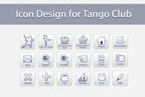 Icon or Button Design for Tango Club için Graphic Design59 No.lu Yarışma Girdisi
