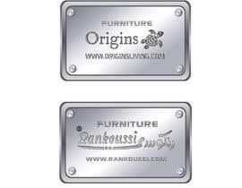 #13 for Furniture Metal Label Design af jahirul4923