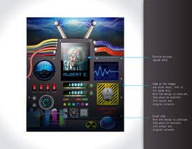Guxalin tarafından Create a Main screen for an app that a crazy inventor would create! için no 27