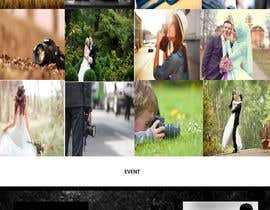 nº 13 pour Design a Photography Website par adeliasyafiitri