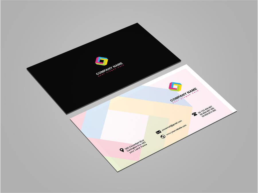 Entry 116 by mehfuz780 for business card template designs freelancer business card template designs fbccfo Images
