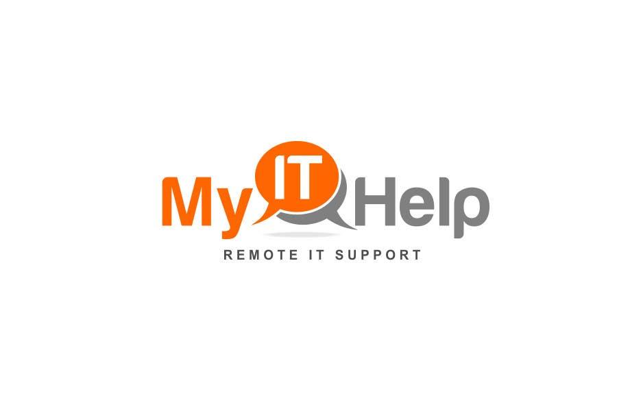 """Intrarea #36 pentru concursul """"Logo Design for My IT Help"""""""