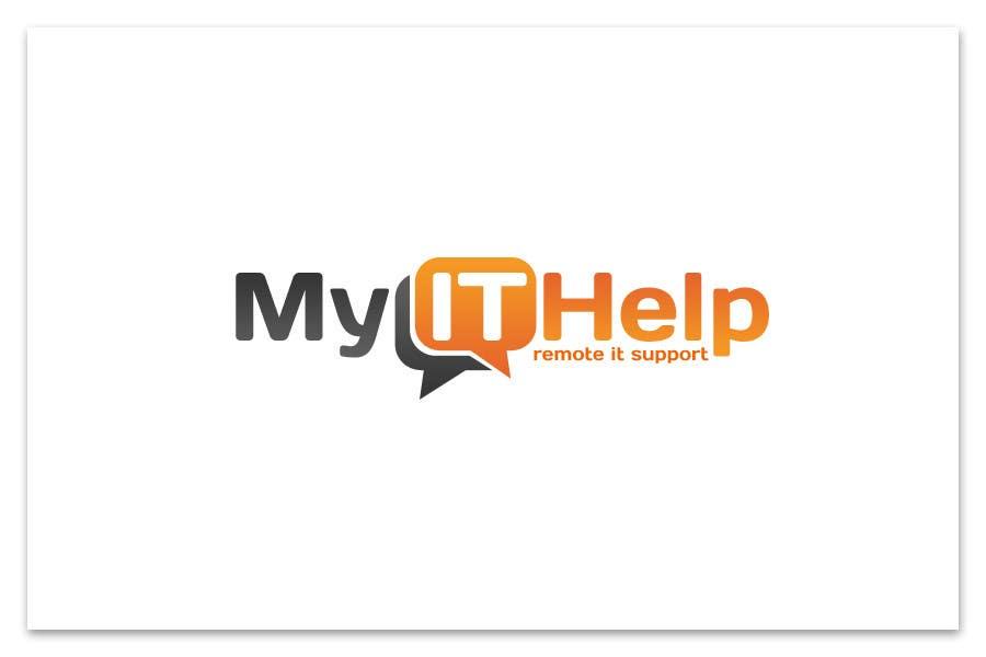 """Intrarea #40 pentru concursul """"Logo Design for My IT Help"""""""