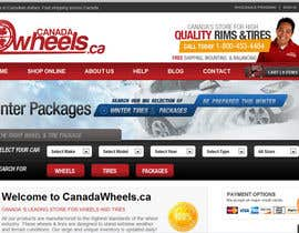 #100 para Graphic Design for Canadawheels.ca por cristianzaharia