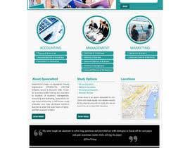 "#28 untuk Design a Website Mockup for ""Queensford College"" oleh webmastersud"
