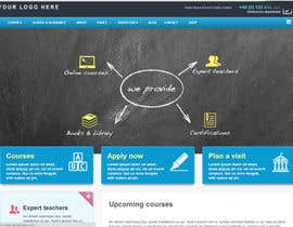 "#3 untuk Design a Website Mockup for ""Queensford College"" oleh quantumsoftapp"