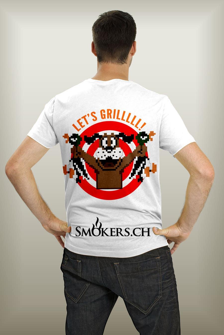 Bài tham dự cuộc thi #                                        90                                      cho                                         Create a BBQ-shirt for our fans and customers