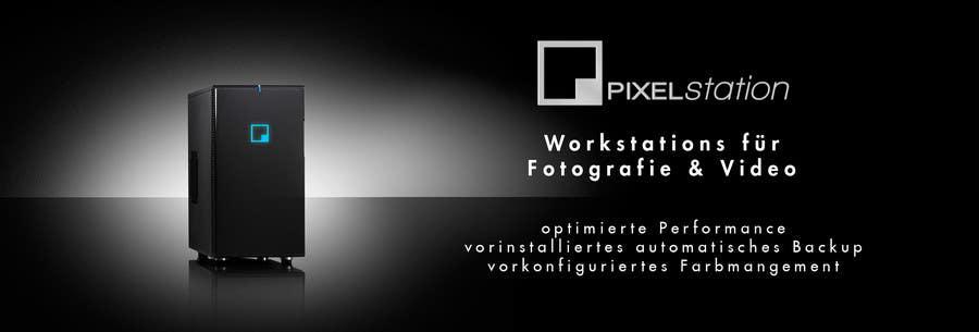 Penyertaan Peraduan #139 untuk Logo Design for Company Pixel Computer, Brand Pixel Station