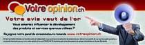 Graphic Design Inscrição do Concurso Nº1 para Advertisement Design for www.votre-opinion.ch