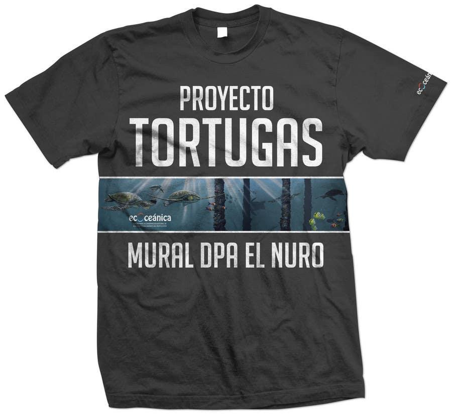 Конкурсная заявка №65 для T-shirt Design for a marine conservation organization