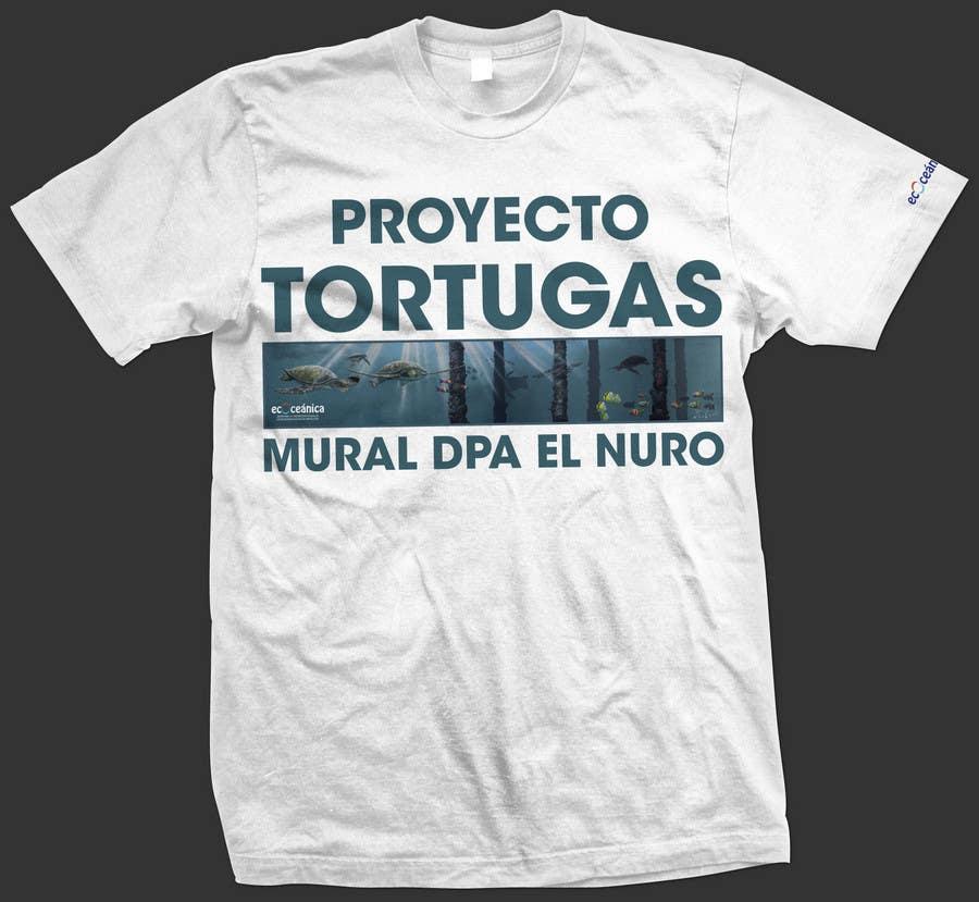 Конкурсная заявка №31 для T-shirt Design for a marine conservation organization