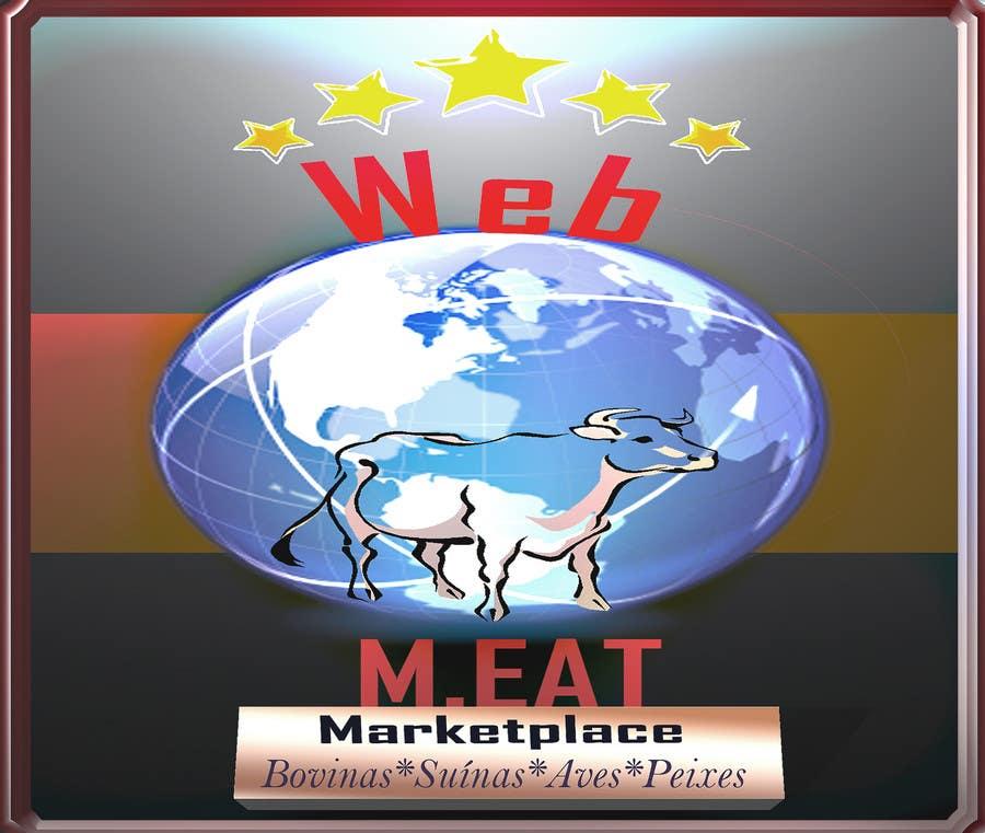 Inscrição nº                                         50                                      do Concurso para                                         LogotipoLogotipo para Marketplace de Carnes - Web Meat