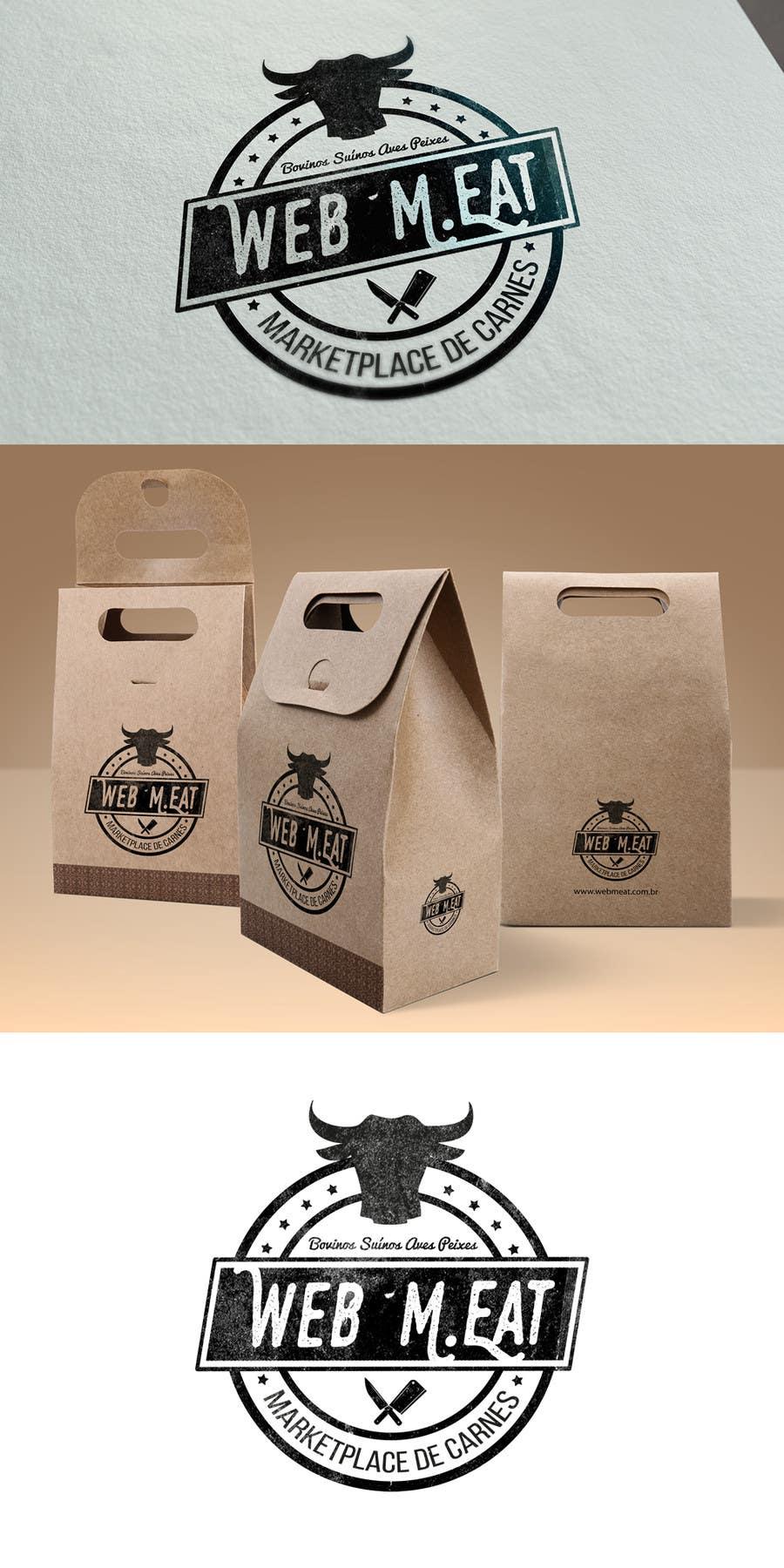 Inscrição nº                                         31                                      do Concurso para                                         LogotipoLogotipo para Marketplace de Carnes - Web Meat