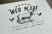 Graphic Design Inscrição do Concurso Nº33 para LogotipoLogotipo para Marketplace de Carnes - Web Meat