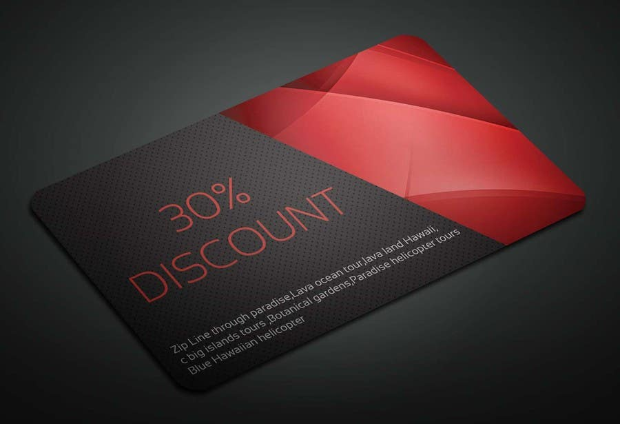 Entry #8 by sahajid000 for Business Card size coupons   Freelancer