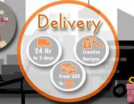 #30 untuk Design a Delivery banner oleh somaya4me