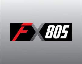 #139 para Logo Design for FX805 por Mdav123