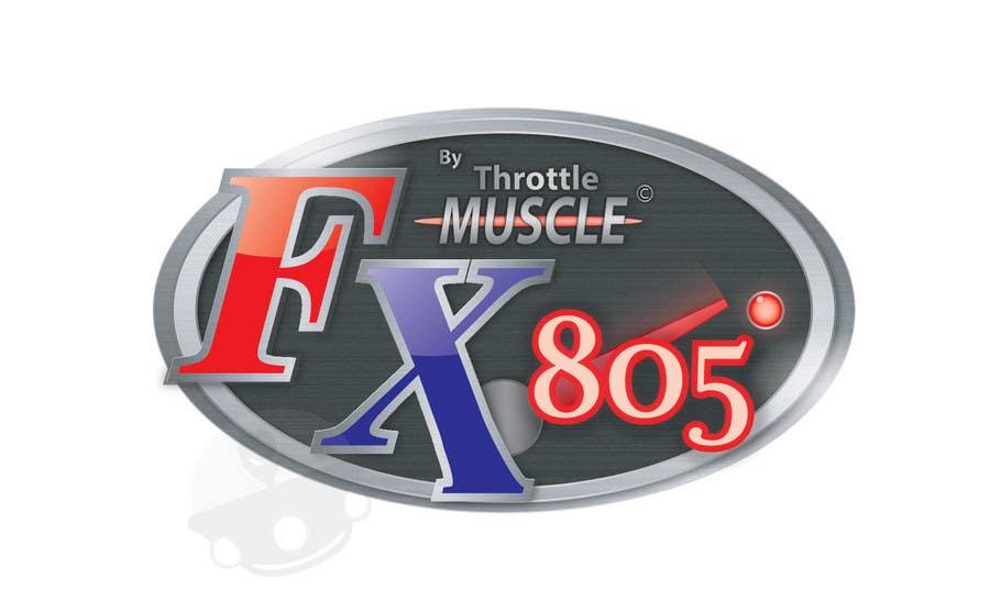 Inscrição nº                                         25                                      do Concurso para                                         Logo Design for FX805