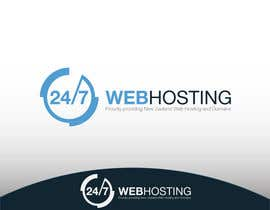 nº 83 pour Logo Design for 24/7 Hosting par WebofPixels