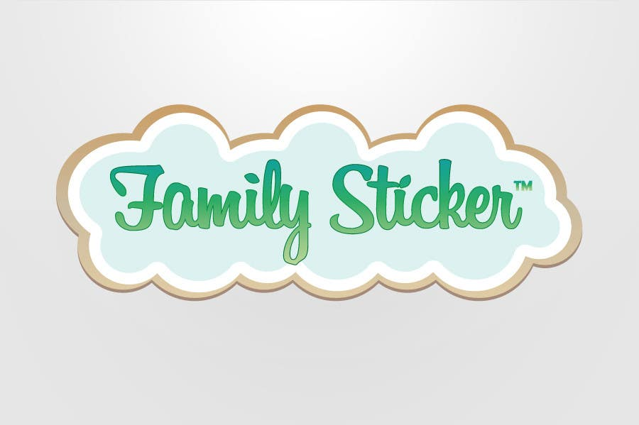 Proposition n°                                        11                                      du concours                                         Logo & Sticker design x 50  for Family Sticker Concept for new market